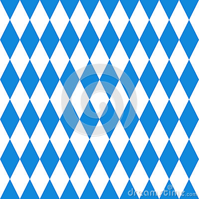 Free Oktoberfest Background. Bavarian Flag Pattern. Royalty Free Stock Photo - 43610175