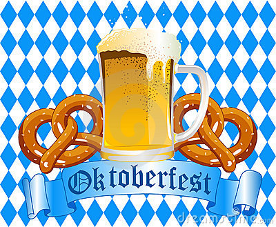 Oktoberfest Celebration Background Editorial Stock Photo