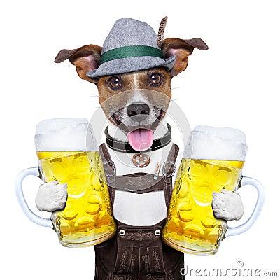 Free Oktoberfest Dog Royalty Free Stock Images - 32175289