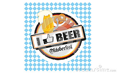 Oktoberfest i like beer Editorial Photography