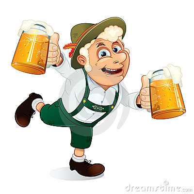 Free Oktoberfest Man Royalty Free Stock Photos - 20754988