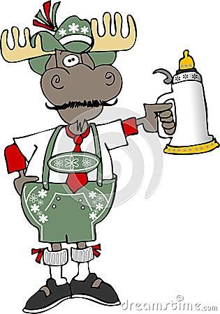 Oktoberfest Moose