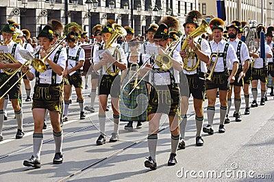 Oktoberfest in munich Editorial Image