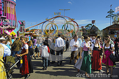 Oktoberfest in munich Editorial Photo