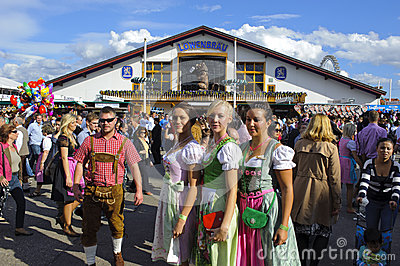 Oktoberfest in munich Editorial Stock Photo