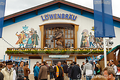 Oktoberfest in Munich Germany Editorial Photography