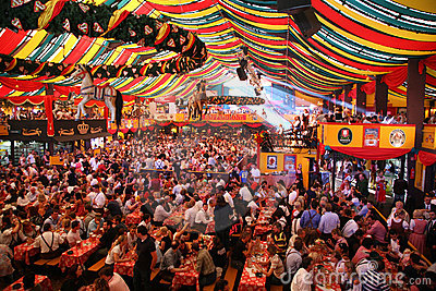 Oktoberfest, Munich, Germany Editorial Photo