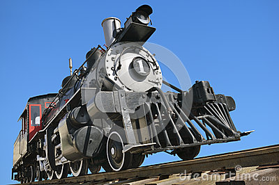 Ol railroad locomotive