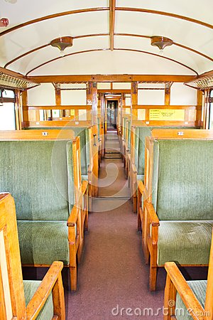 Old 2nd Class Wagon Cabin