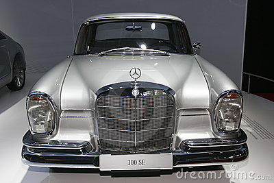 Old 300 SE Mercedes car Editorial Stock Image