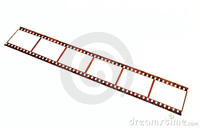 Old 35 mm film strip