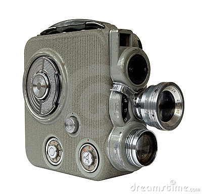 Old 8mm camera