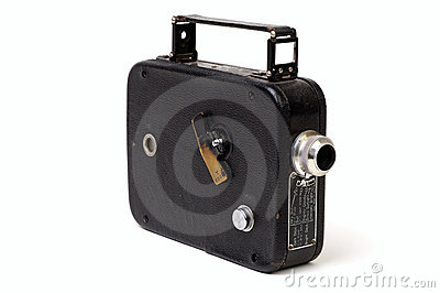 Old 8mm Movie Camera 1
