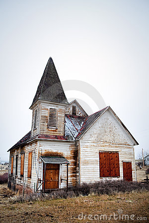 Free Old Abandoned Church Stock Photography - 15996602