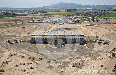 Old, abandoned Phoenix Trotting Park