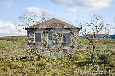 Old Abandoned Stone House
