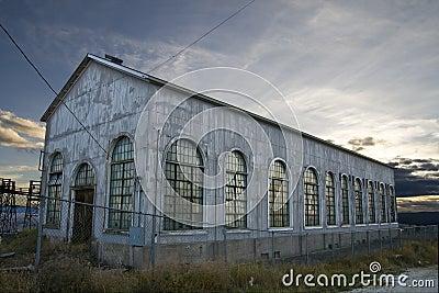 Old Abandoned Storage Warehouse