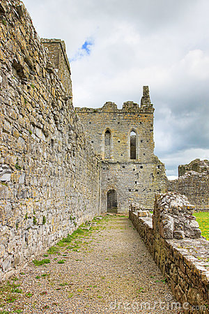 Old abbey in ireland.