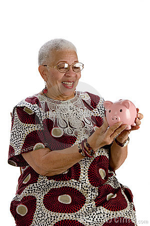 Free Old African American Lady Royalty Free Stock Images - 4455779