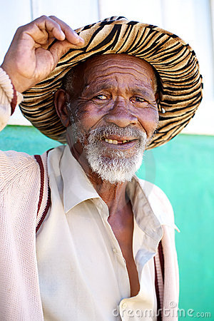 Old african male