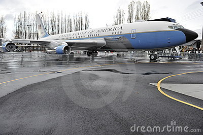 Old Air Force One Editorial Photo