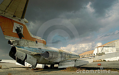 The Old Airport of Cyprus I. Editorial Photography