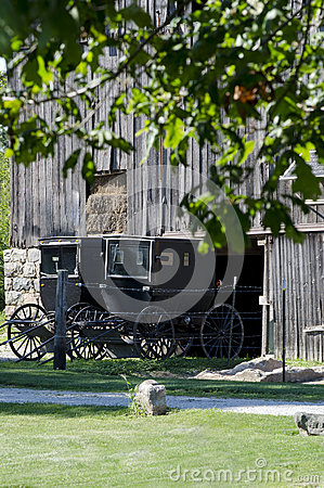 Free Old Amish Buggies Royalty Free Stock Photo - 36451925