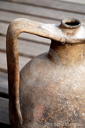 Old amphora handle