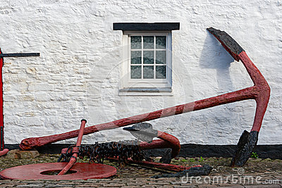 Old anchor. Kinsale, Ireland