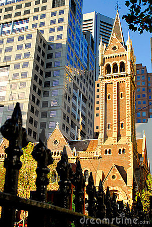 Free Old And New-Melbourne Royalty Free Stock Photo - 2744295