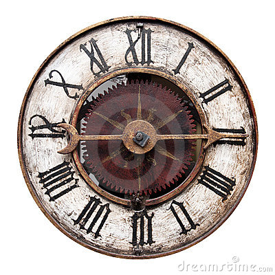 Free Old Antique Clock Stock Image - 23191081