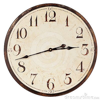 Free Old Antique Clock Royalty Free Stock Photography - 24408117