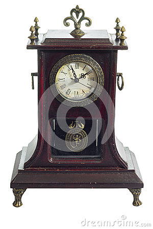 Free OLD ANTIQUE CLOCK Royalty Free Stock Photography - 28877857