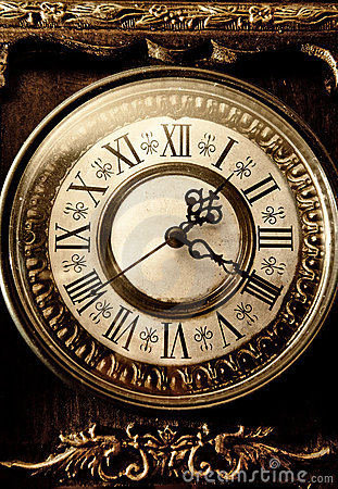 Free Old Antique Clock Royalty Free Stock Photo - 7379175