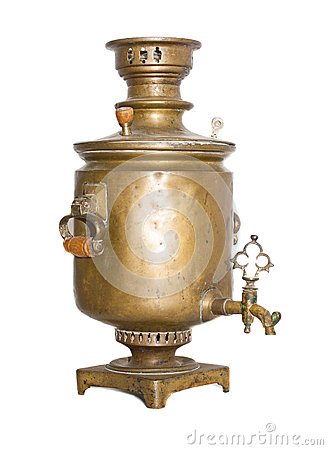 Free Old Antique Samovar Royalty Free Stock Photography - 31043497