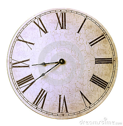 Free Old Antique Wall Clock Royalty Free Stock Photos - 47729808