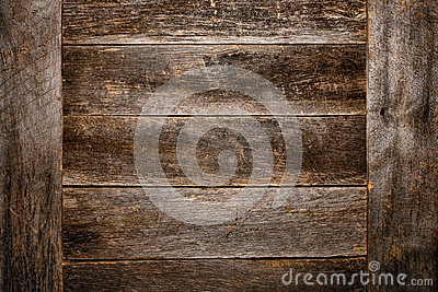 Old and Antique Wood Plank Board Grunge Background