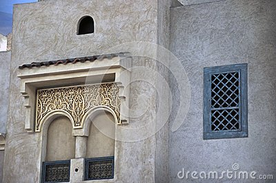 Old Arab Style windows