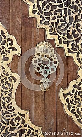 Free Old Arabesque Door, Lebanon Royalty Free Stock Photos - 14640188