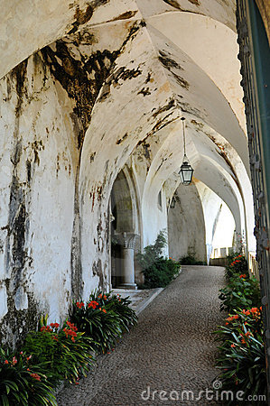 Old arched walkway