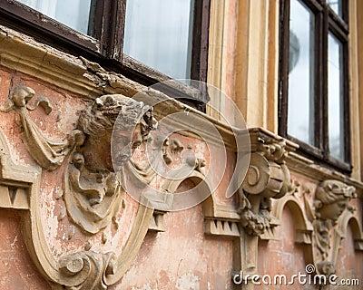 Old architectonic details.