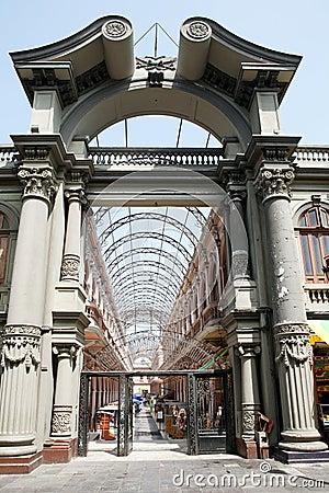 Free Old Architecture Of Lima, Peru. Stock Image - 22821021