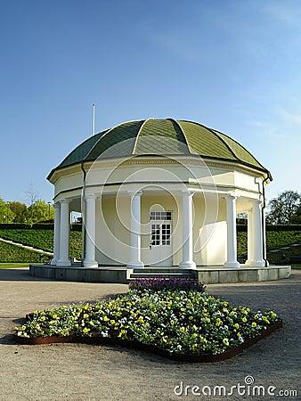 Old architecture in Swedish park
