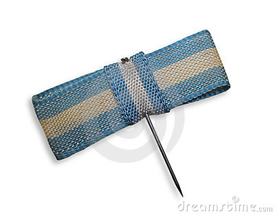 Old argentine flag pin.