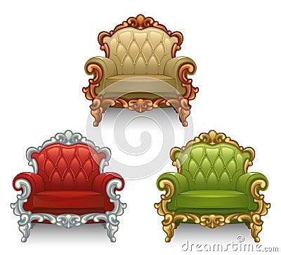 Old armchair