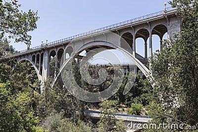 Old Arroyo Bridge Pasadena, California