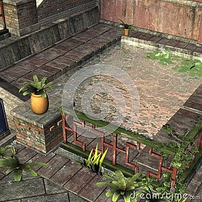 Old Asian Port Village
