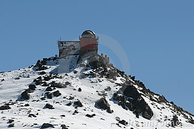 Old astronomical observatory