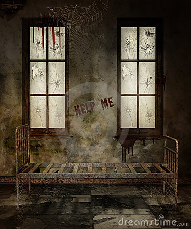 Old asylum room