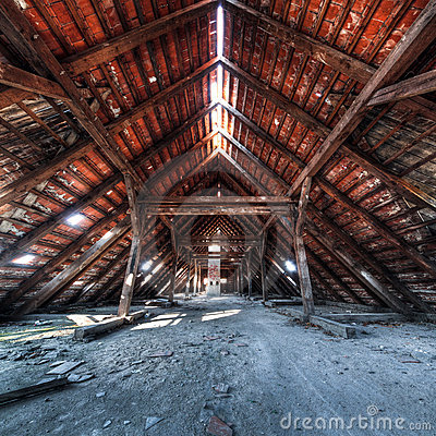 Free Old Attic Stock Photography - 16808862